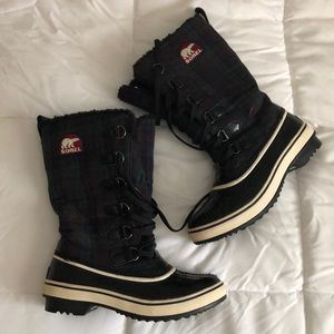 Plaid Sorel Boots